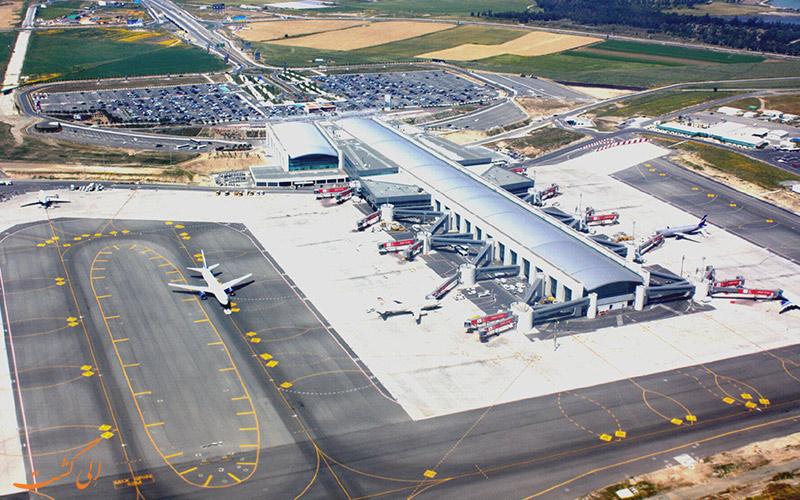 تاریخچه ی فرودگاه بین المللی لارناکا