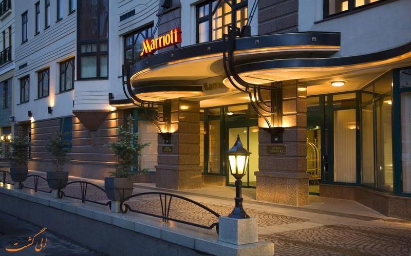 هتل 4 ستاره ماریوت تورسکیا مسکو