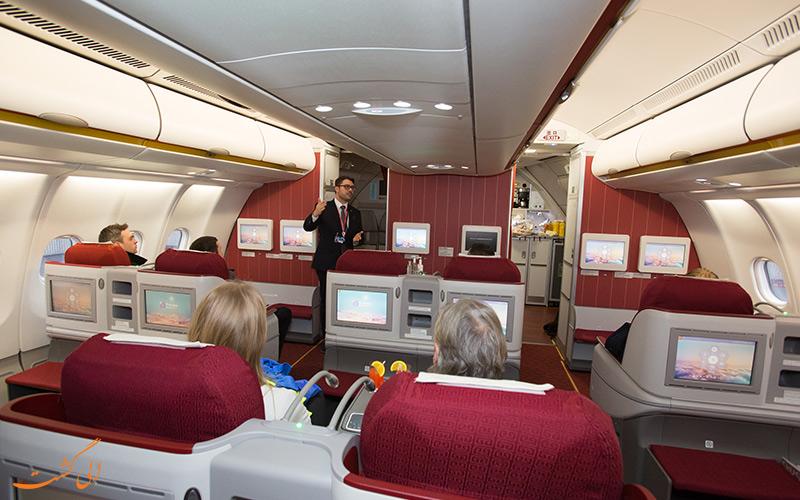 پرواز بیزینس کلاس شرکت هواپیمایی هاینان ایرلاینز