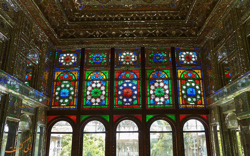داخل موزه ی قوام شیراز