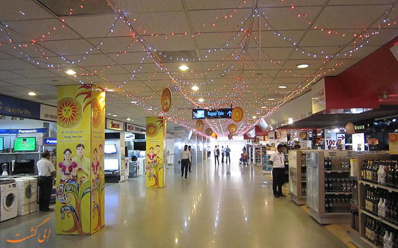 ترمینال های فرودگاه بین المللی باندارنیکی کلمبو
