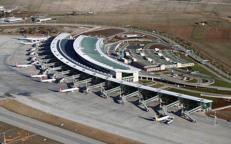 تاریخچه ی فرودگاه بین المللی اسن بوغا