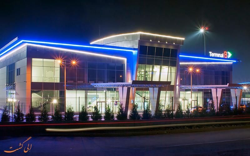 امکانات فرودگاه بین المللی کی یف