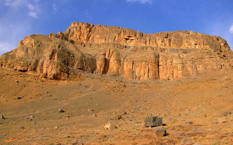کوه های روستای انجدان