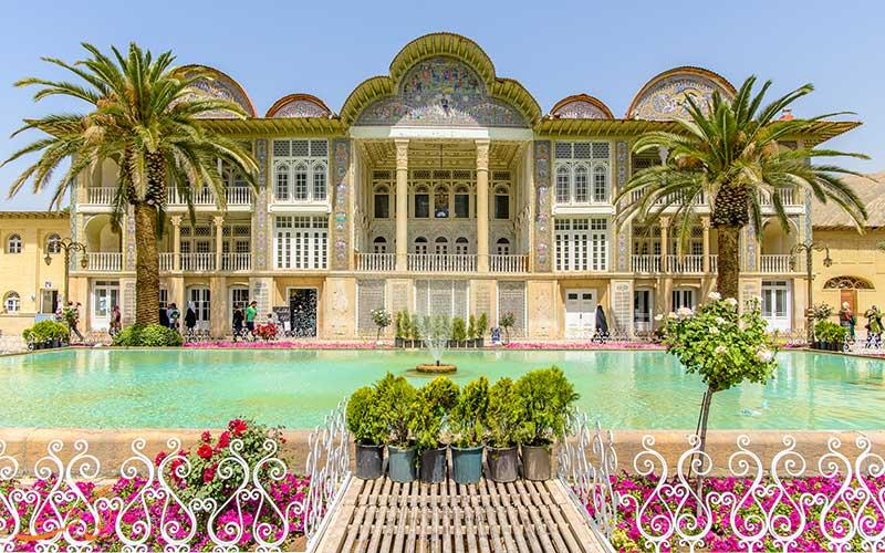 باغ های باصفای شیراز