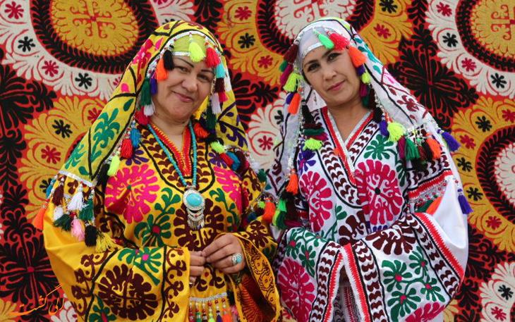 مدل لباس در تاجیکستان