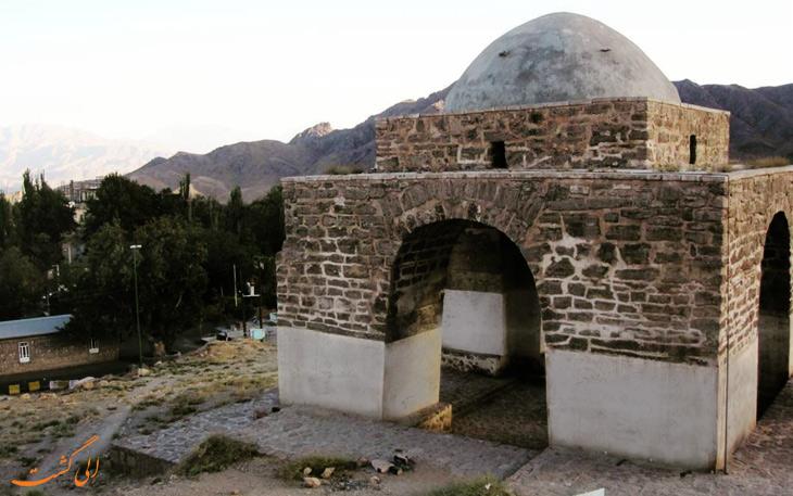 آتشکده ی چهارطاقی در شهر کاشان