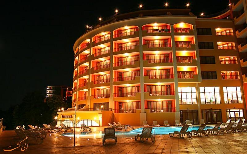هتل سنترال در وارنا