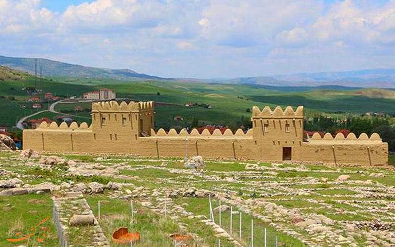 یکی از شهرهای باستانی