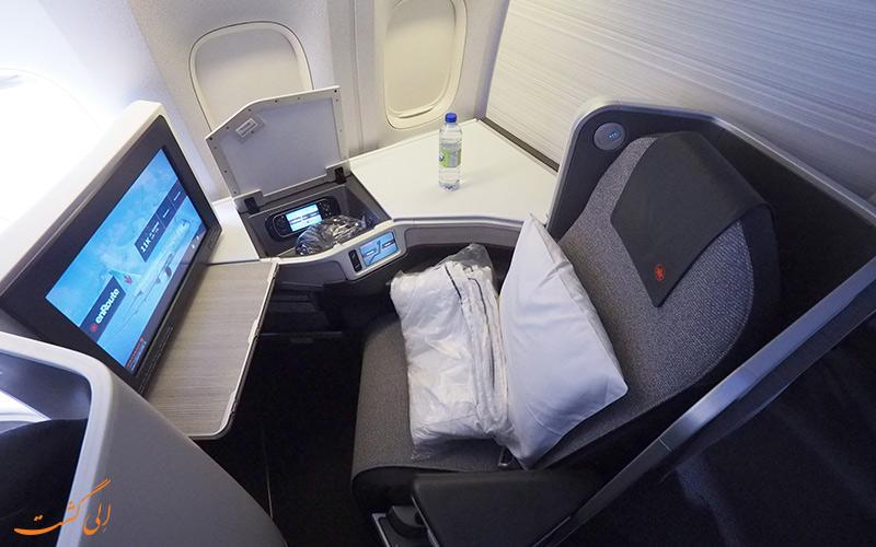 پروازهای بیزنینس کلاس شرکت هواپیمایی ایرکانادا