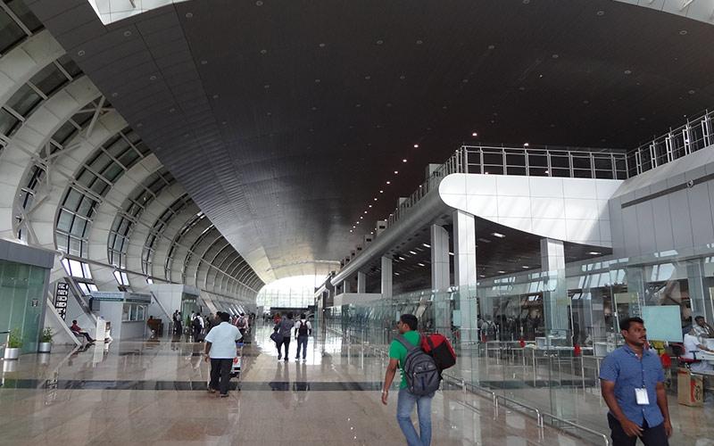 معرفی فرودگاه بینالمللی تریواندروم هند