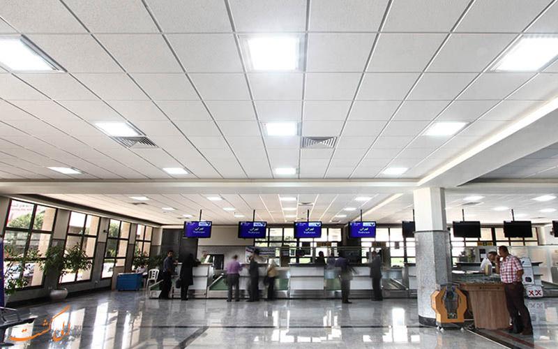 اطلاعات فرودگاه بین المللی کرمانشاه