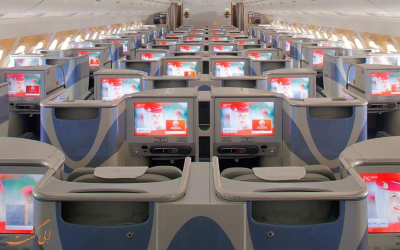 مختصری از تاریخچه ی شرکت هواپیمایی امارات
