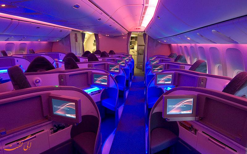 پروازهای بیزینس کلاس شرکت هواپیمایی ایرکانادا
