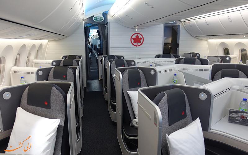 مختصری از تاریخچه ی شرکت هواپیمایی ایرکانادا