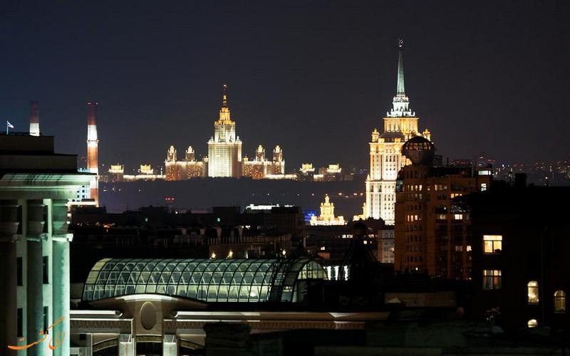 هتل 4 ستاره هالیدی این مسکو لسنایا