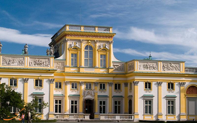 معماری کاخ ویلانو