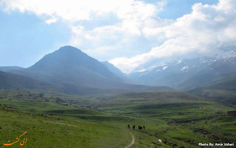 دورنمای قله پاشوره - عکس از امیرعباس وفائی