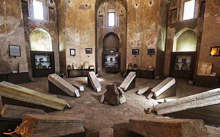 نمای داخلی گنبد جبلیه