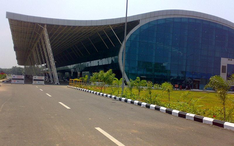 تاریخچه ی فرودگاه بین المللی تریواندروم