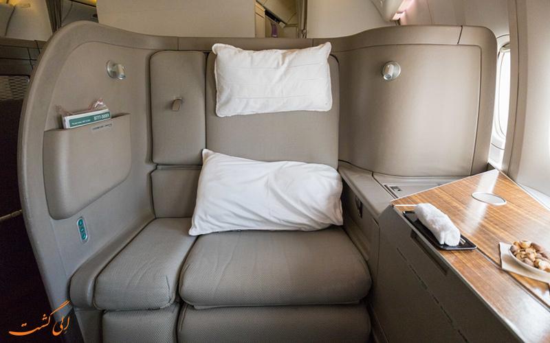 پروازهای بیزینس کلاس شرکت هواپیمایی کاتای پسفیک