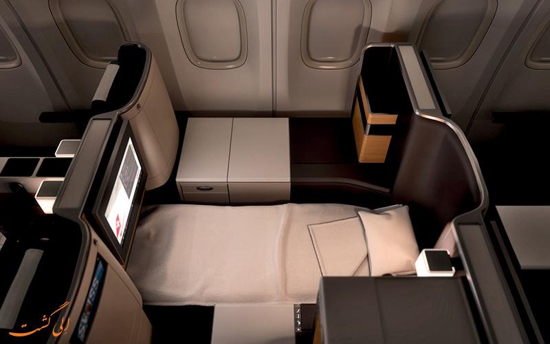 مختصری از تاریخچه ی شرکت هواپیمایی سوئیس اینتر نشنال