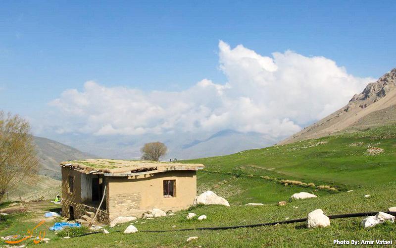 کلبه دشت آزو - عکس از امیرعباس وفائی