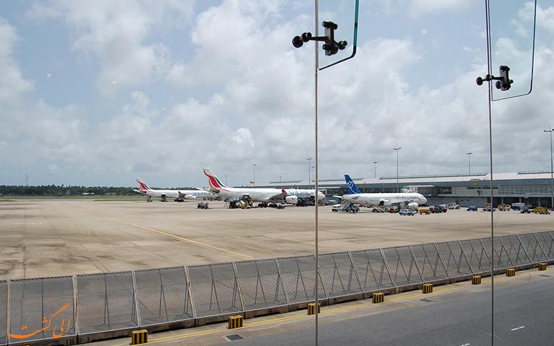 اطلاعات فرودگاه بین المللی باندارنیکی کلمبو