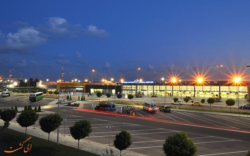 تاریخچه ی فرودگاه بین المللی وارنا