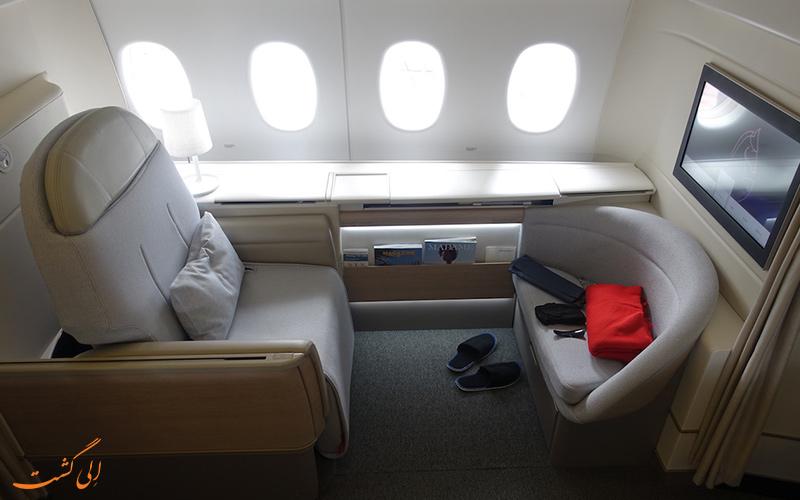 آشنایی با پرواز بیزینس کلاس شرکت هواپیمایی ایر فرانس