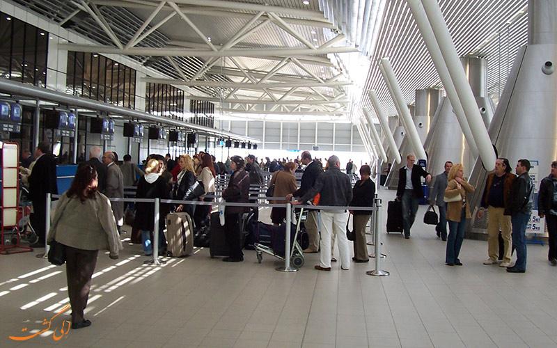 مسافران فرودگاه