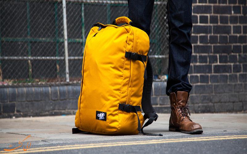 8 نکته ساده برای داشتن سفری راحت تر- چمدان همراه