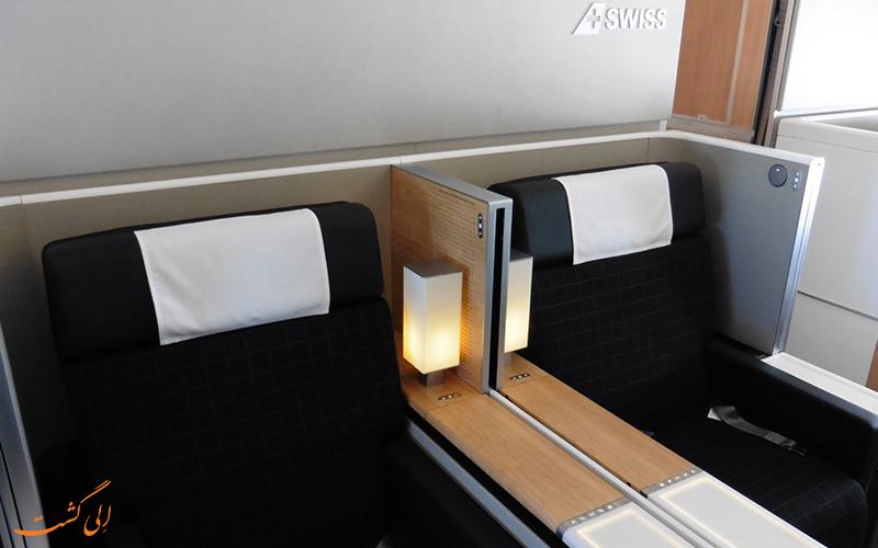 پرواز بیزینس کلاس شرکت هواپیمایی سوئیس اینترنشنال