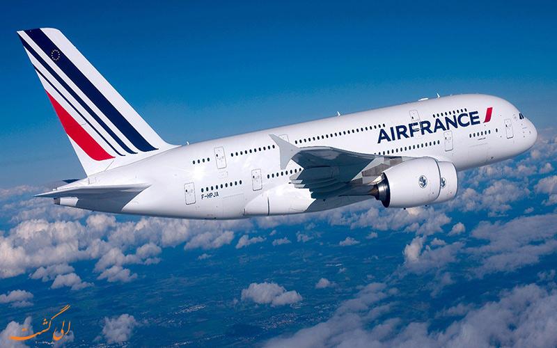مختصری از تاریخچه ی شرکت هواپیمایی ایر فرانس