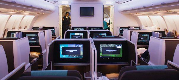 معرفی پرواز بیزینس کلاس شرکت هواپیمایی عمان ایر