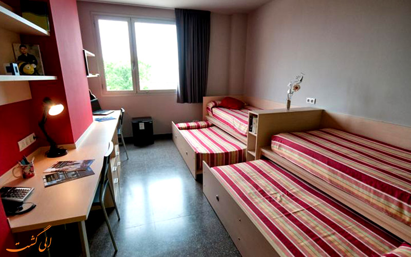 امکانات اتاق های هتل آگورا بی سی ان بارسلونا
