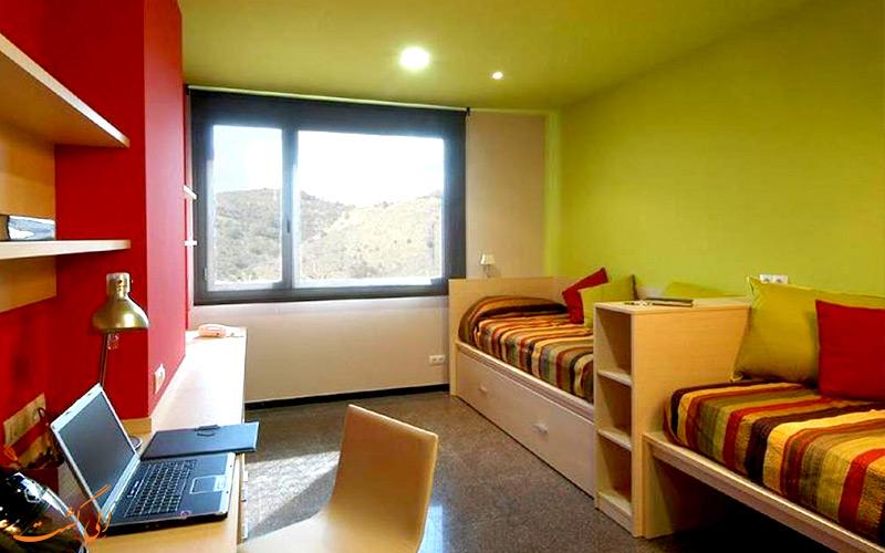 انواع اتاق های هتل آگورا بی سی ان بارسلونا