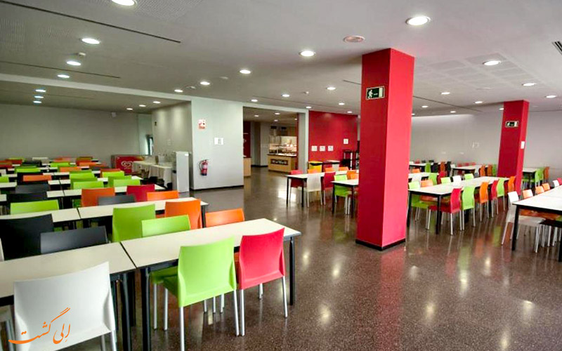 امکانات تفریحی هتل آگورا بی سی ان بارسلونا- رستوران
