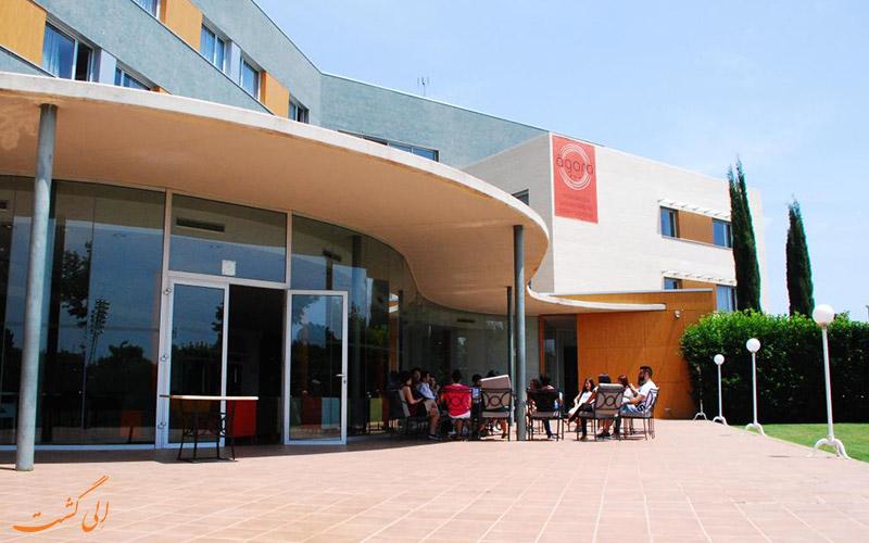 خدمات رفاهی هتل آگورا بی سی ان بارسلونا - تراس هتل