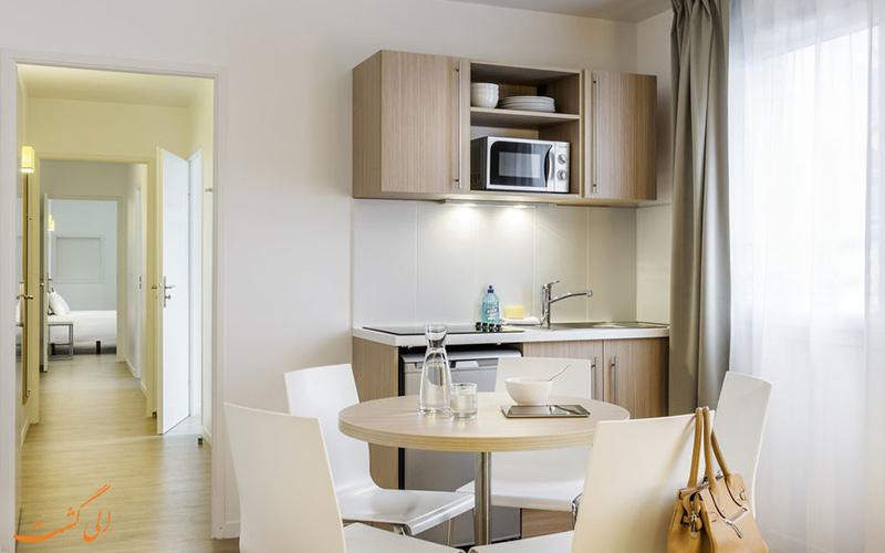 انواع اتاق های هتل آداجیو اکسس پاریس
