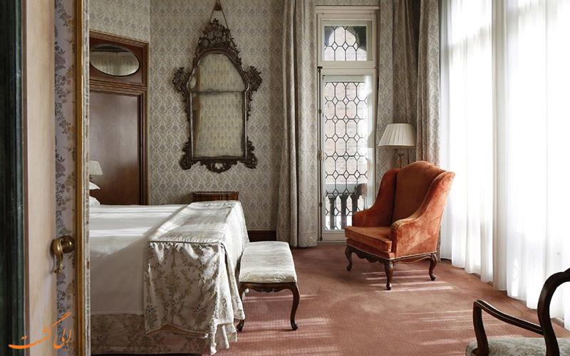 انواع اتاق های هتل بائر پلازو ونیز