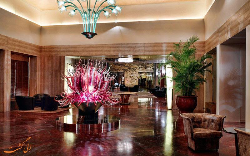 خدمات رفاهی هتل بائر پلازو ونیز- لابی