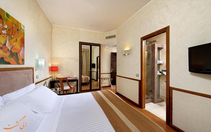 انواع اتاق های هتل بست وسترن پیکادیلی رم