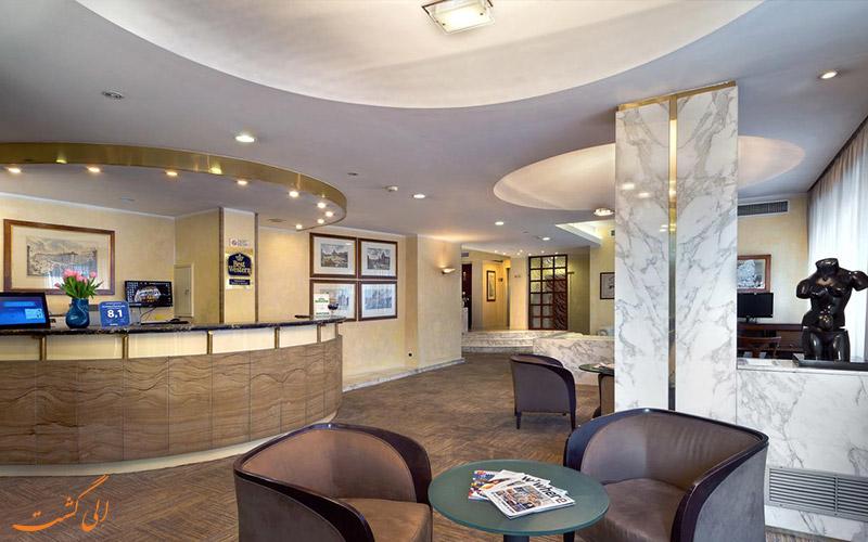 خدمات رفاهی هتل بست وسترن پیکادیلی رم
