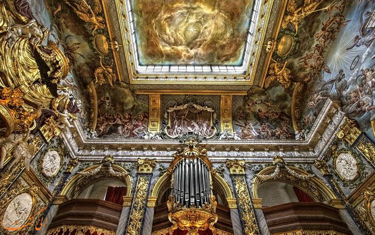 نمای داخلی کاخ شارلوتنبورگ