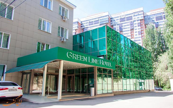 هتل خط سبز در سامارا
