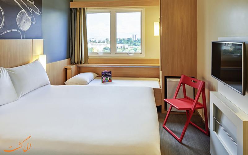 امکانات اتاق های هتل آیبیس ایتالی تُلبیاک پاریس