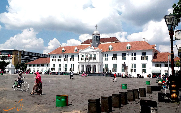 شهر قدیمی در جاکارتا