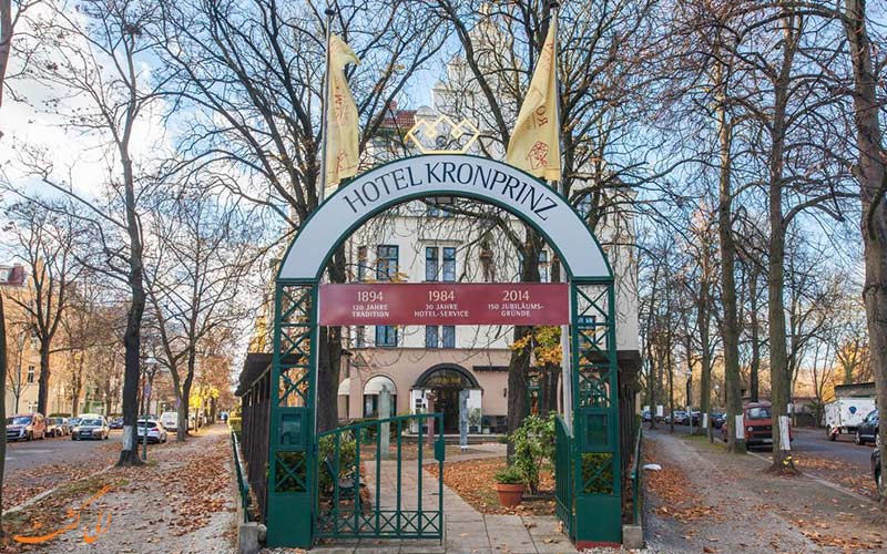 Novum Hotel Kronprinz Berlin-eligasht.com نمای ورودی باغ هتل