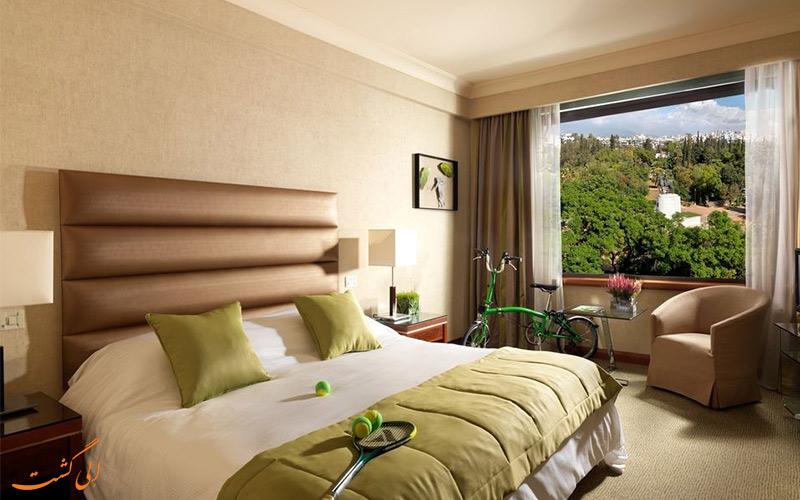 امکانات اتاق های هتل رادیسون بلو پارک آتن